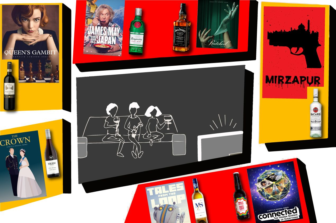 Photo for: Pairing drinks with web/tv shows